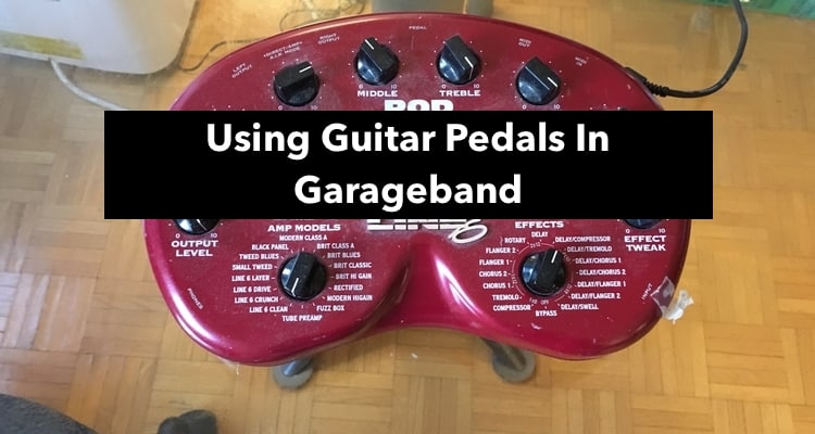 using guitar pedals in garageband how to best practices. Black Bedroom Furniture Sets. Home Design Ideas