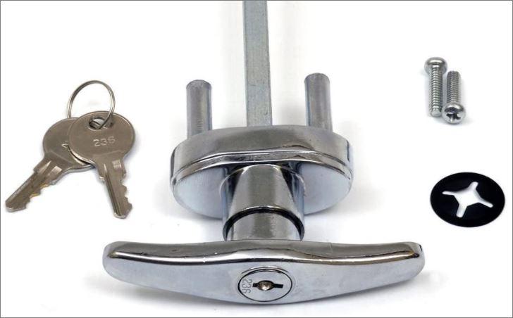 T Handle Garage Door Locks