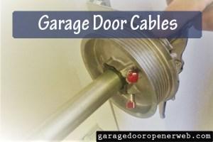 garage door cables