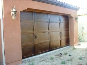 Gel Stain The Garage Door Weblog