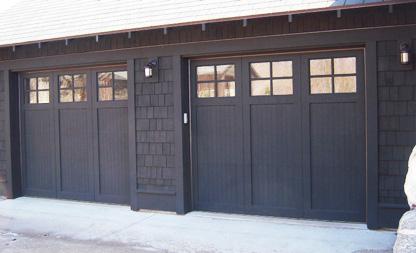 Wood Door - Dark Stain - Cropped