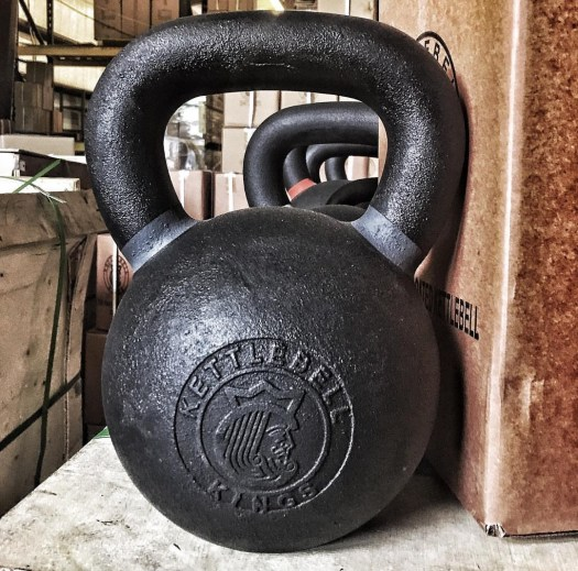 Building a home gym with kettlebells garage experiment
