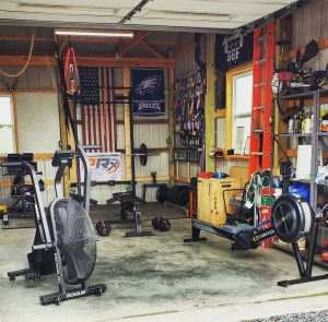 Make it yours u2013 garage gym experiment