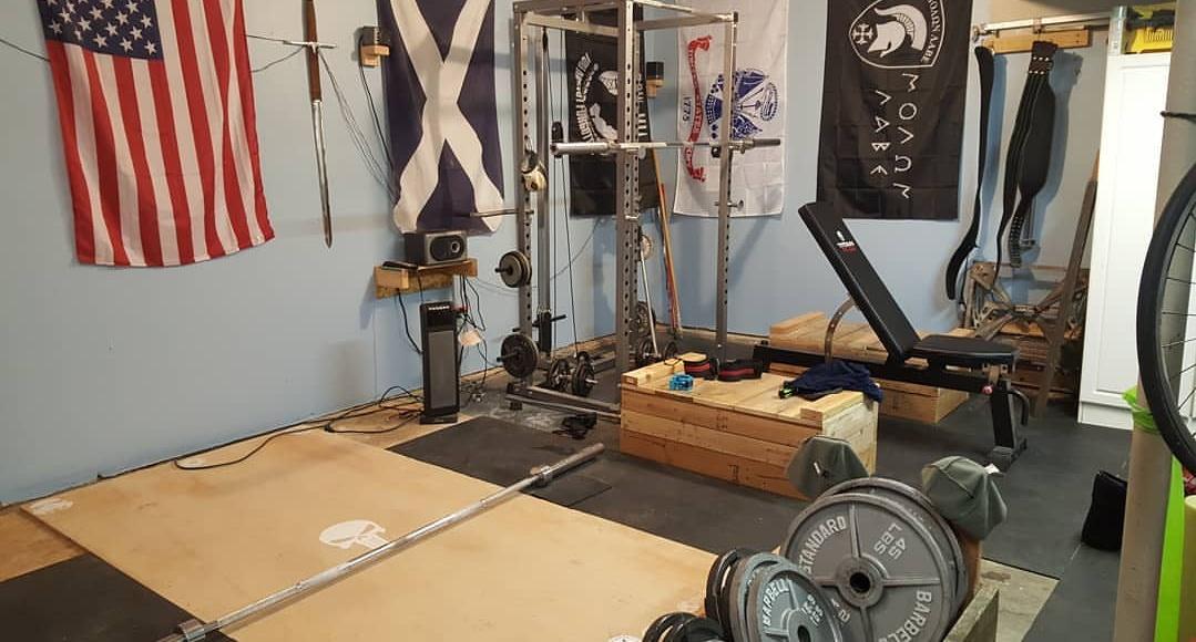 U page u garage gym experiment