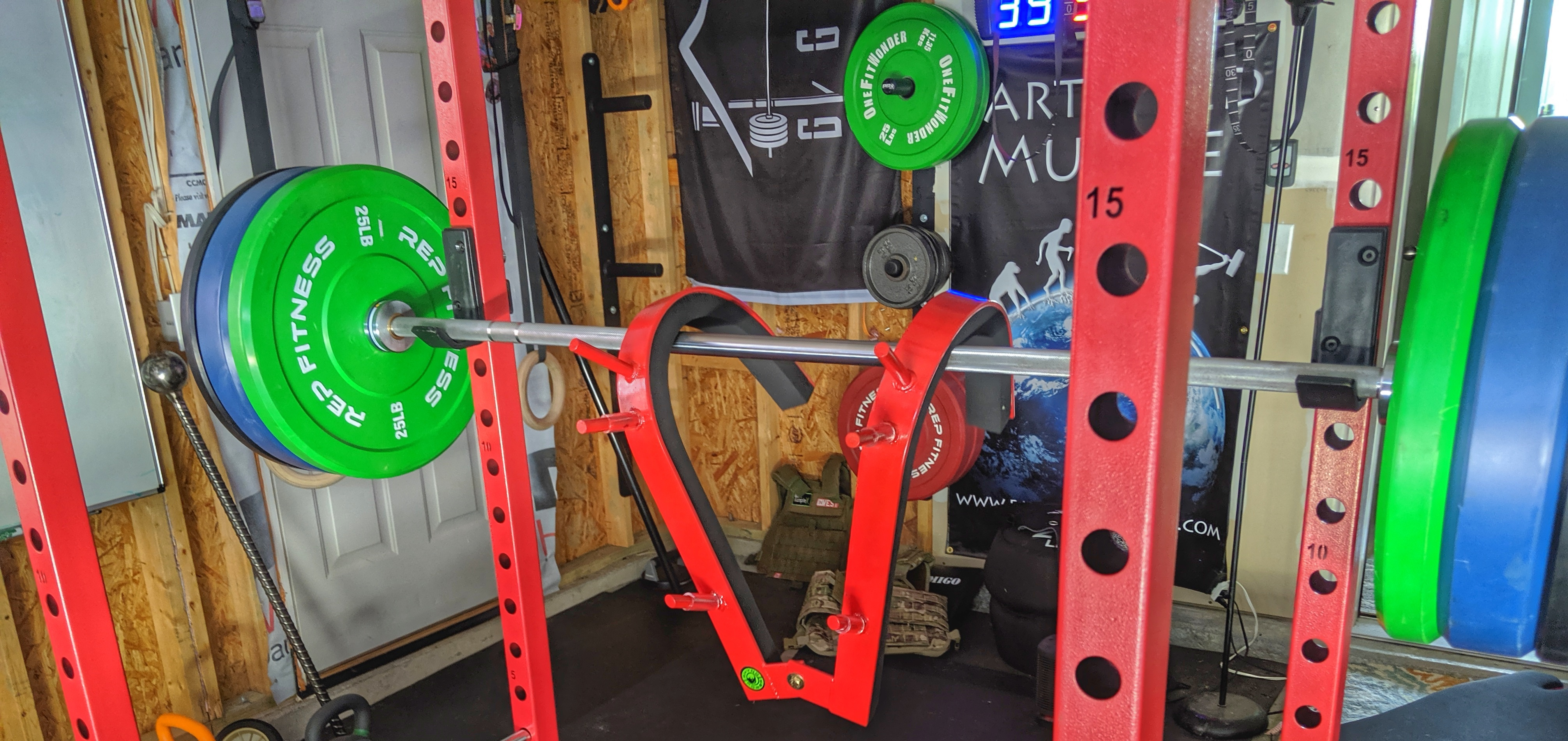 U garage gym experiment