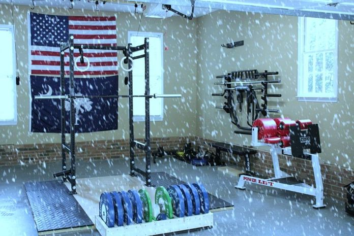 Stay Warm in Your Garage Gym