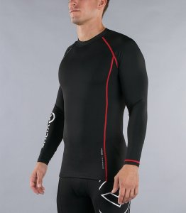 Virus Performance Stay Warm Series Long Sleeve Compression Crew Neck