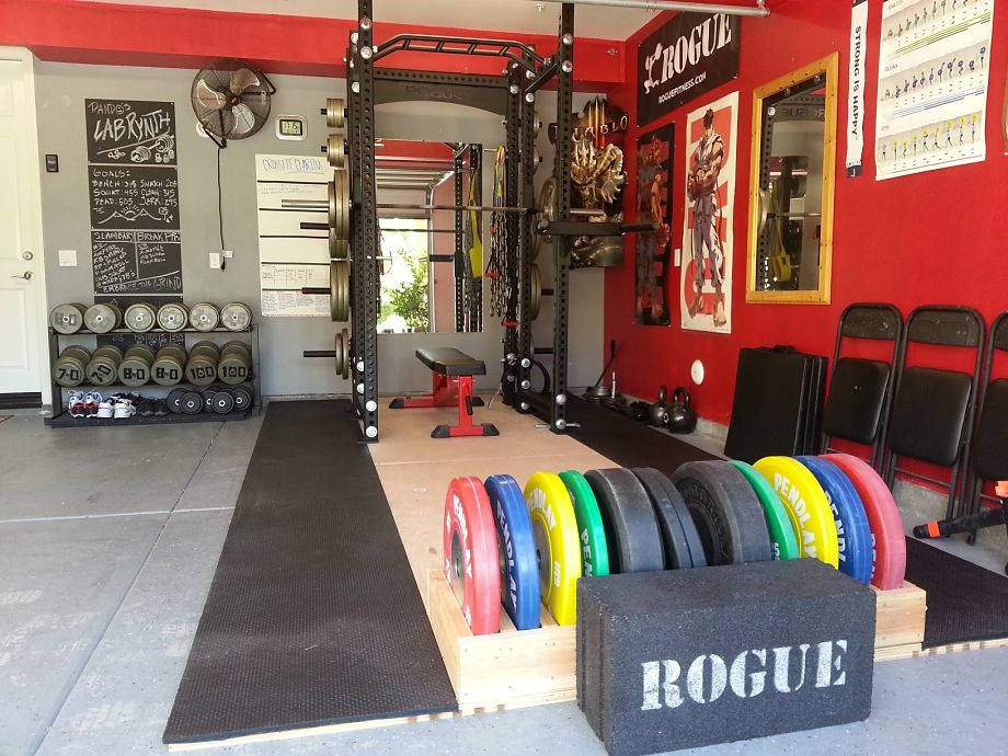 The top benefits of a home gym garage lab