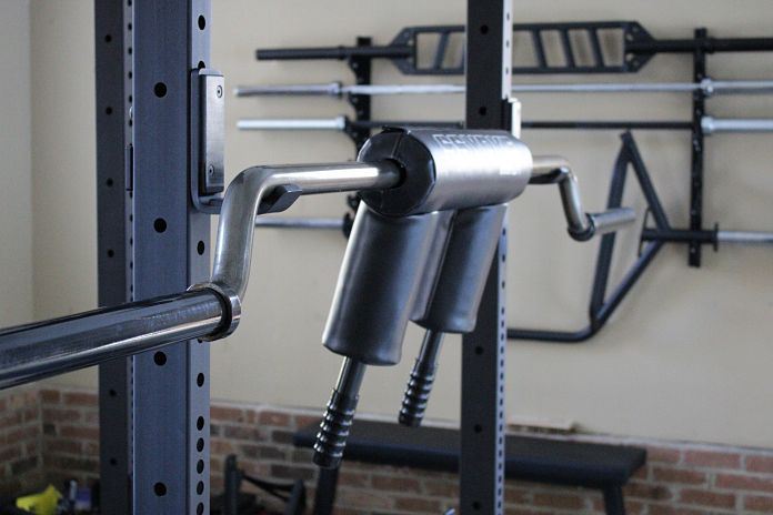 Elitefts safety squat bar review garage gym lab