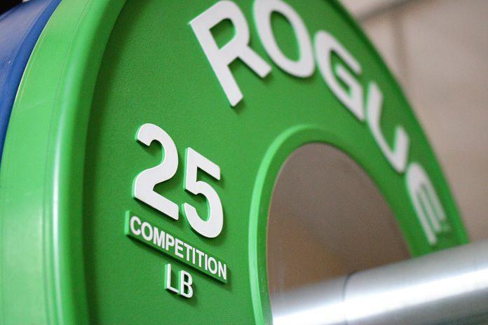 Rogue Competition 25 lb Bumper Plate