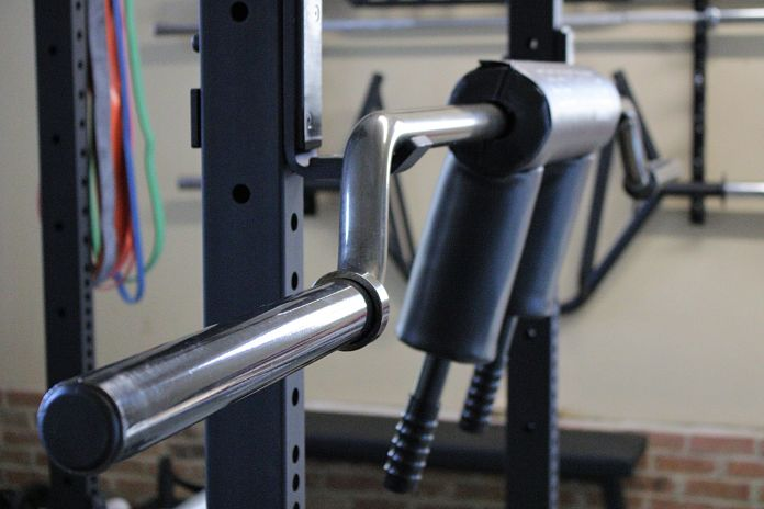 EliteFTS SS Yoke Bar Profile in Garage Gym