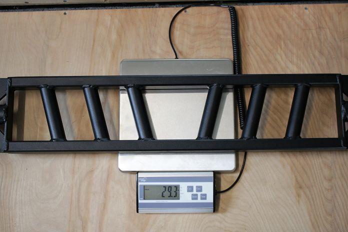 Edge Fitness Slim Football Bar Weight