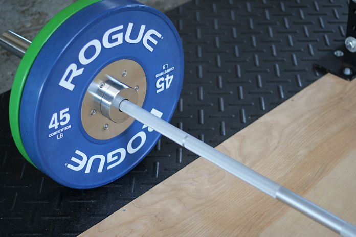 Fringe Sport Weightlifting Bar Aesthetics