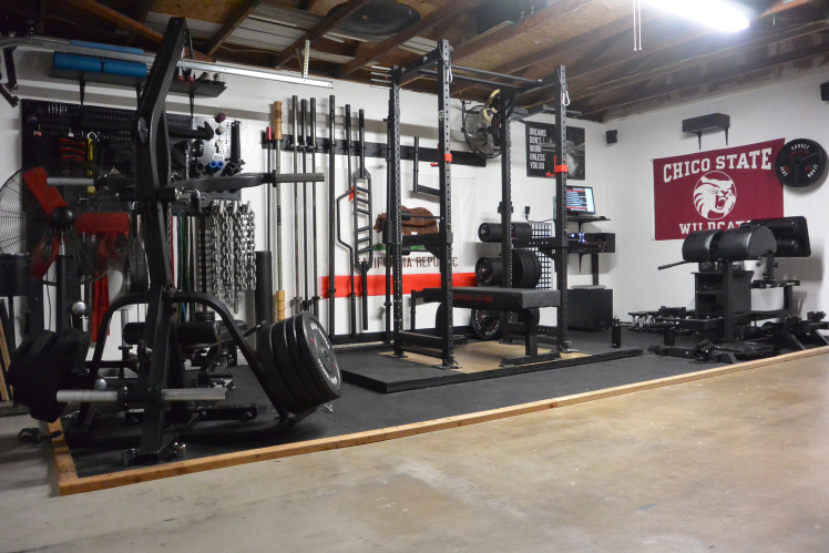 Step into joe s gray matter lab garage gym garage gym lab