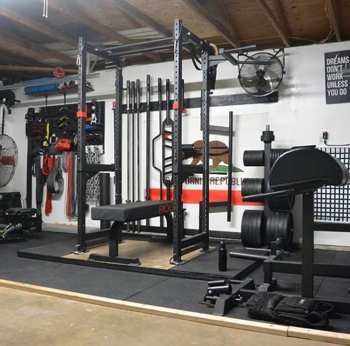 Joe Gray Matter Lab Garage Gym