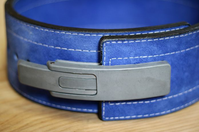 Inzer Forever Lever Belt Close Up
