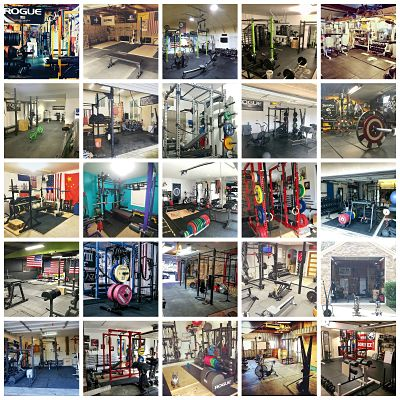 Garage Gym inspiration gallery