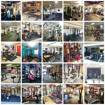 Garage Gym inspiration gallery
