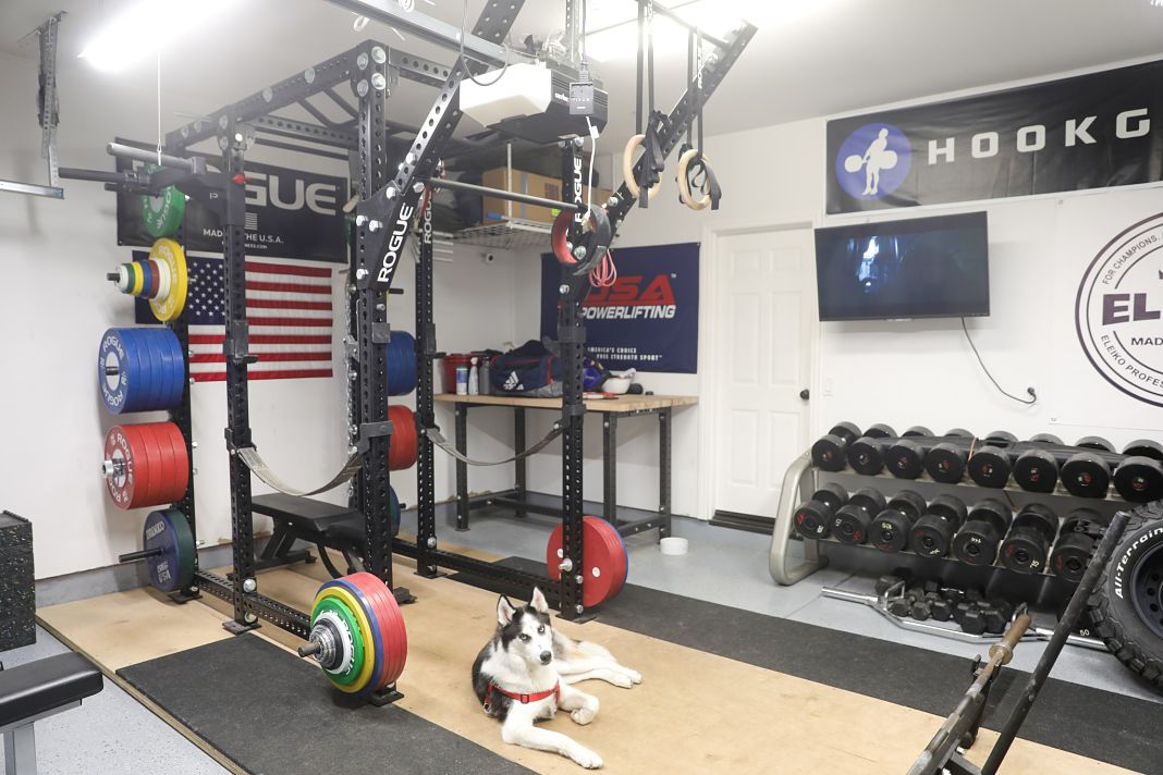 Step into liam connolly s incredible garage gym garage gym lab