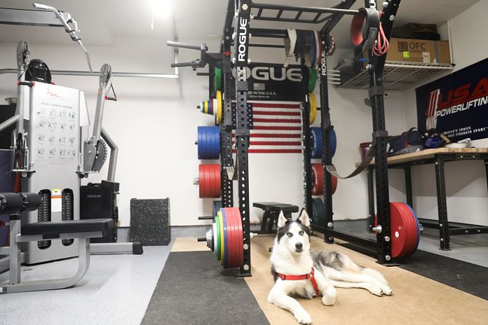 Gym kit out install metal rhino
