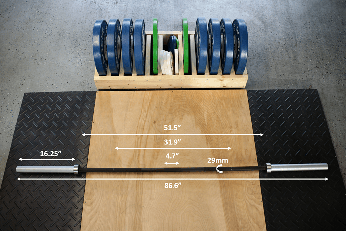 Vulcan Strength Absolute Power Bar Measurements