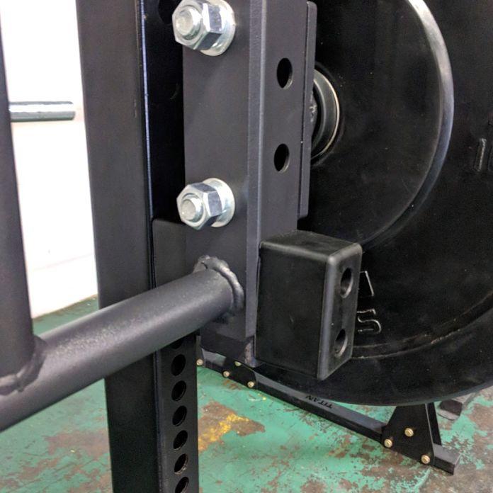 Titan Fitness Lever Arms Garage Gym Lab