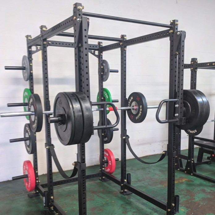 New release titan fitness lever arms garage gym lab