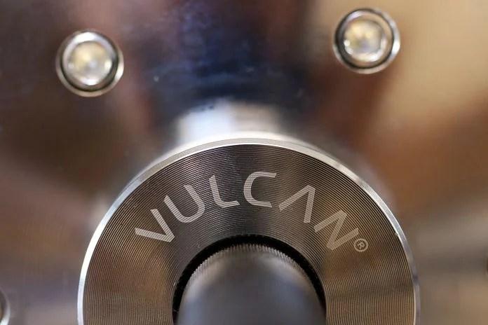 Vulcan Absolute Power Bar Emblem Garage Gym Lab