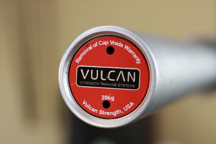 Vulcan Absolute Power Bar End Cap Garage Gym Lab