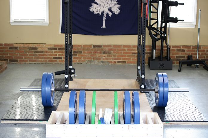Vulcan Absolute Power Bar Loaded Garage Gym Lab