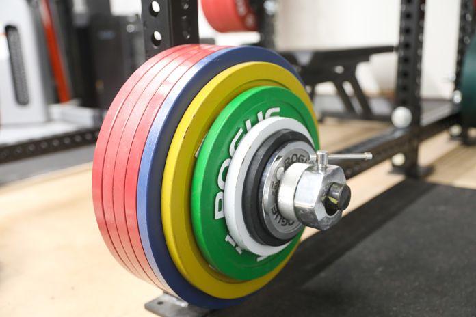 Liam Connolly Garage Gym Plates