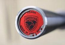 American Barbell Grizzly Power Bar End Cap Garage Gym Lab