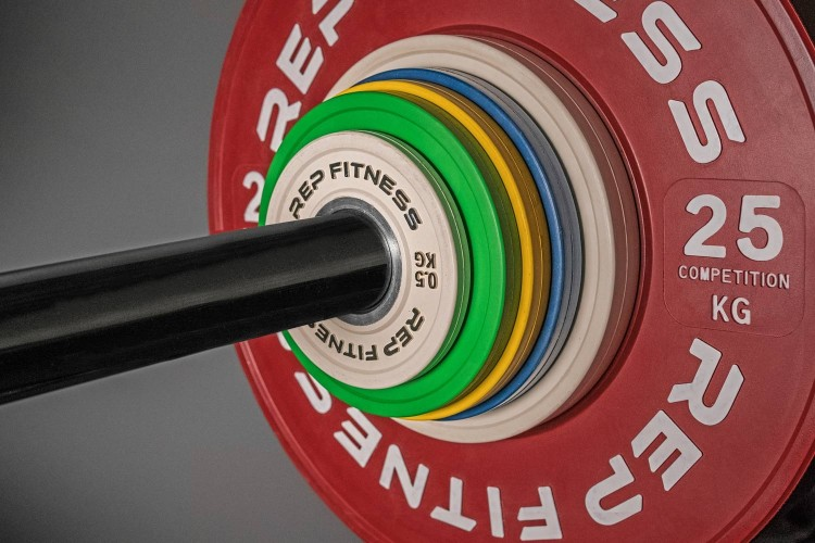 New release rep fitness change plates garage gym lab