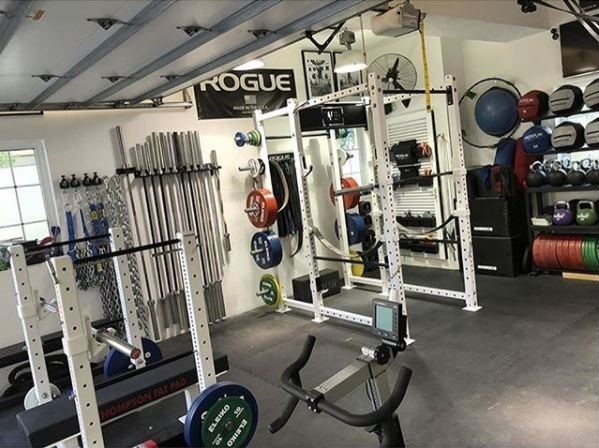 White Box Powerlifting Garage Gym Picture Garage Gym Lab
