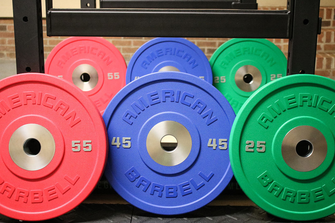 American barbell urethane bumper plate review garage gym lab