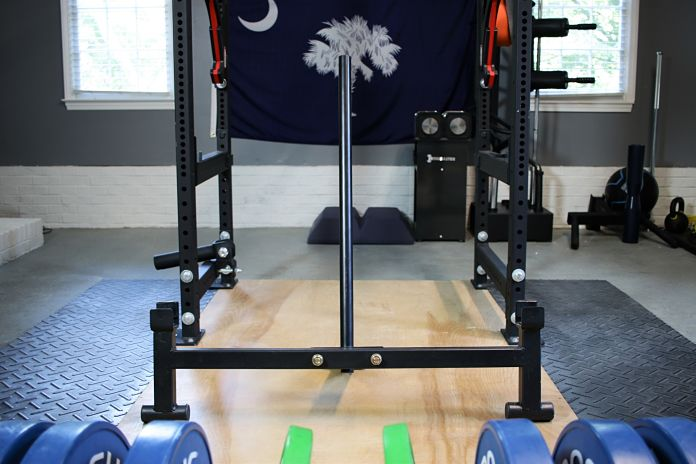 Titan Deadlift Jack Open Garage Gym Lab