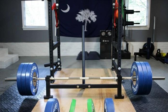 Titan Fitness Deadlift Jack Cover Garage Gym Lab