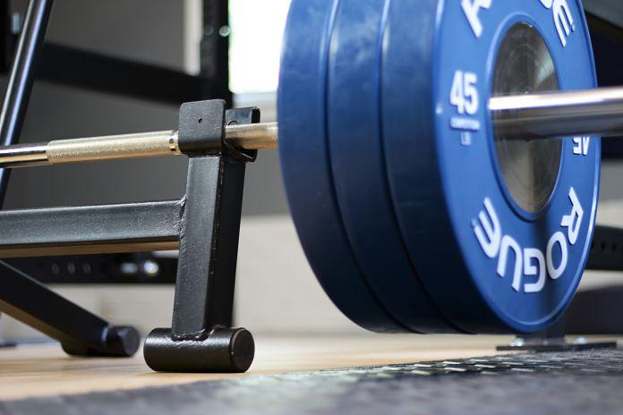 Titan Fitness Deadlift Jack Loaded Garage Gym Lab