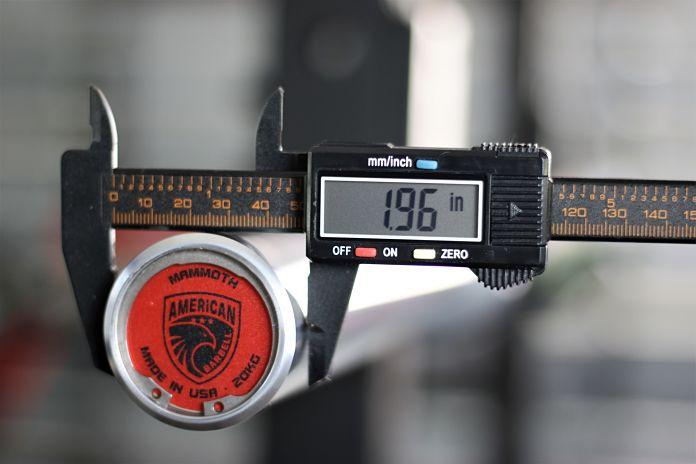 American Barbell Mammoth Bar - Sleeve Diameter Garage Gym Lab