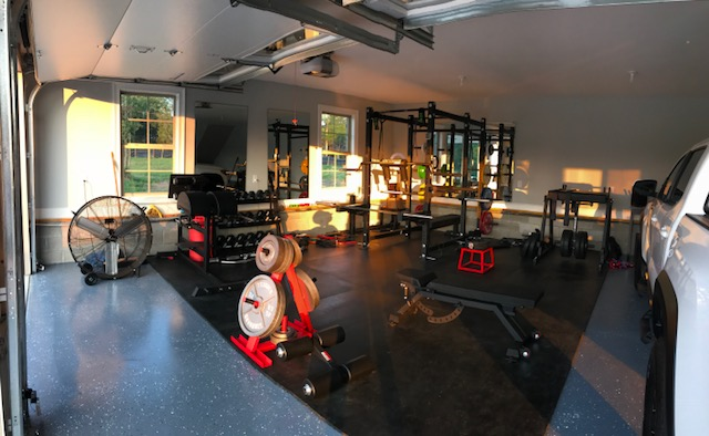 Step into catie s garage gym paradise lab