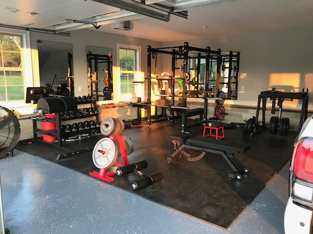 Step into caties garage gym paradise garage gym lab