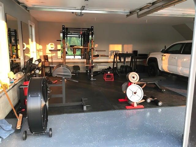 Step into catie s garage gym paradise garage gym lab