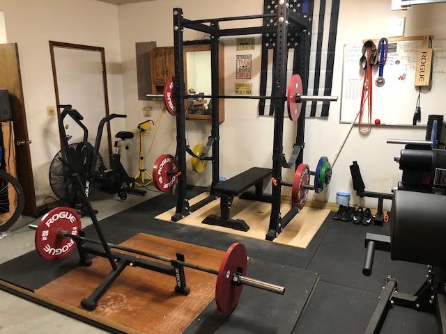 SWAT Officer's Powerlifting Garage Gym 7 Garage Gym Lab