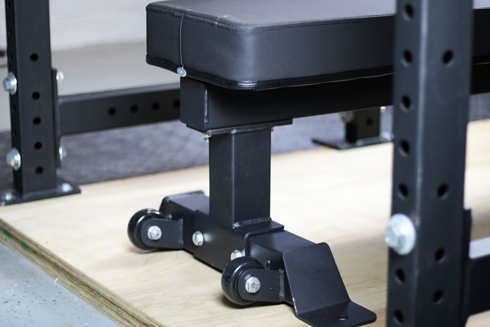 Rep Fitness FB-5000 - Wheels - Garage Gym Lab