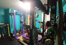 Jim & Holly Badass Home Gym Garage Gym Lab Cover