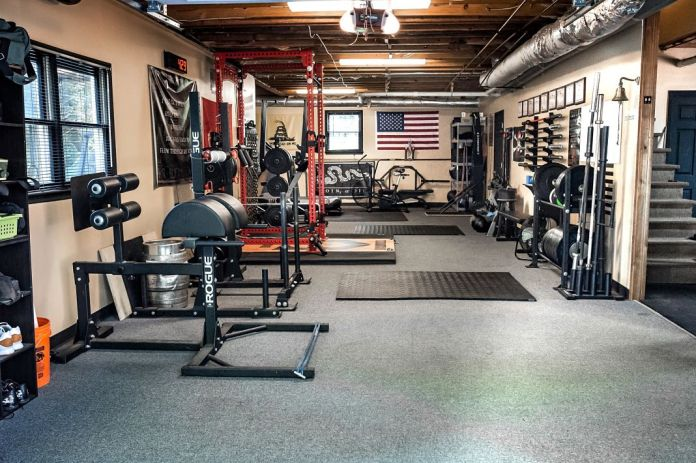 Step into rovefit an unbelievable garage gym