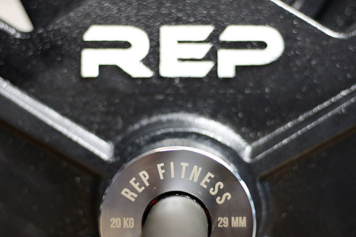 Rep Fitness PowerSpeed Bar Collar 3 Garage Gym Lab