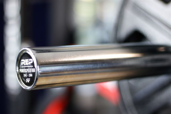 Rep Fitness PowerSpeed Bar Sleeves Garage Gym Lab