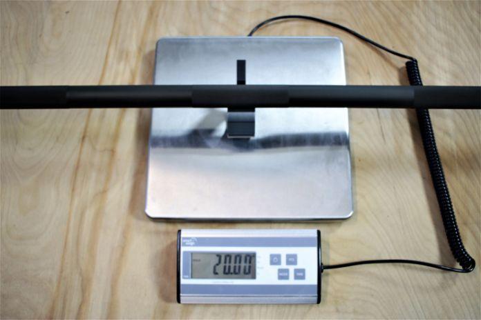 Rep Fitness PowerSpeed Bar Weight Garage Gym Lab