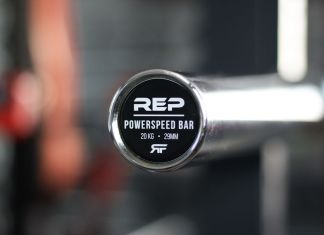 Rep Fitness PowerSpeed Bar Garage Gym Lab